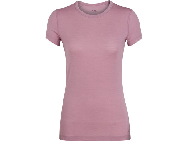 Icebreaker Sprite T-shirt Col ras-du-cou Femme, opal